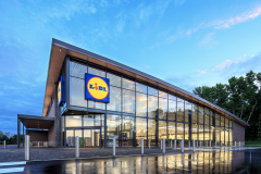 Lidl Store Front & Curtain Wall