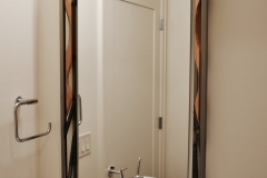 Single Vanity Framed Mirror