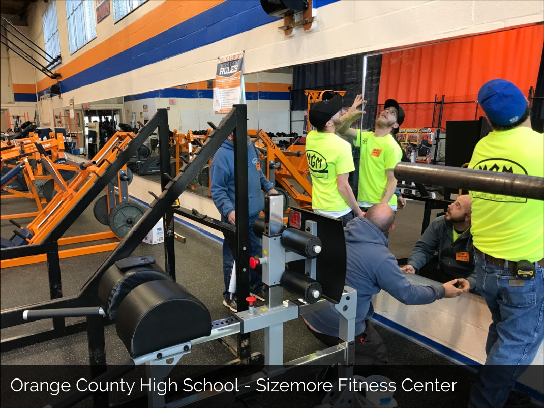 Orange County High School Sizemore Fitness Center