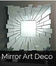 Fractured Mirror Decor