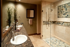 Bathroom Mirror & Shower Glass