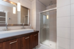 Bathroom Mirror & Shower
