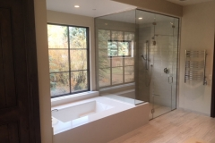 Custom Floor to Ceiling Shower